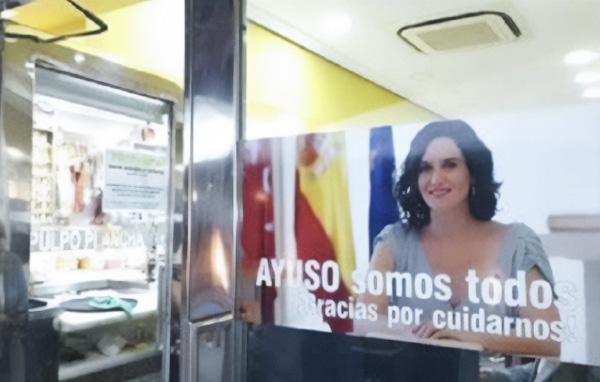 Gracias Madrid - cartel bar