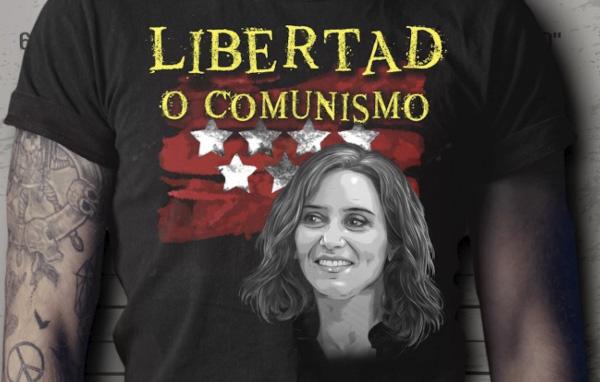 Gracias Madrid - libertad o comunismo